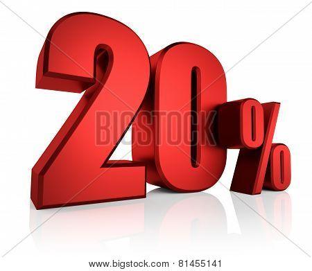Red 20 Percent