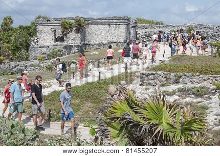 Tulum Tourists