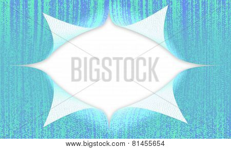 Abstract background was split isolated on white background
