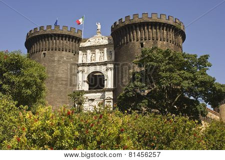 Castel Dell'ovo (egg Castle), Naples, Italy