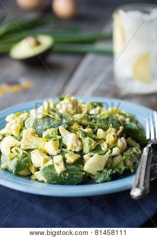 Curried Egg And Cauliflower Salad