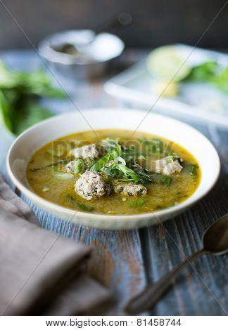 Lemon Basil Curry with Pork