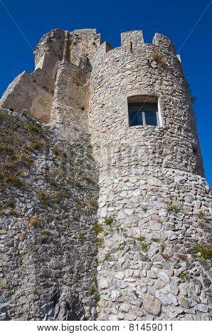 Castle of Morano Calabro. Calabria. Southern Italy.