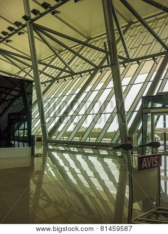 Montevideo Airport Inside View