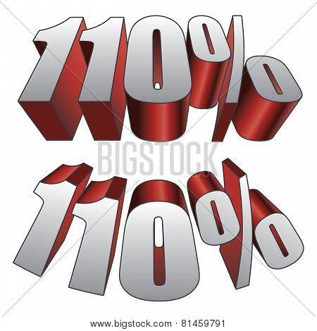 110 Percent