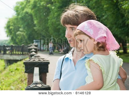 Woman And Her Daughter