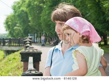 Mulher e sua filha