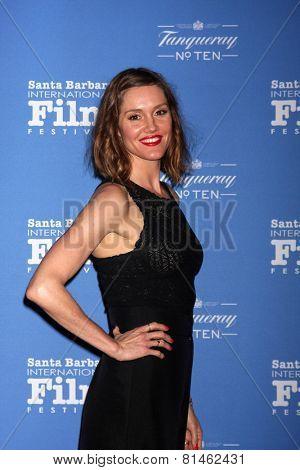 SANTA BARBARA - JAN 29:  Erinn Hayes at the Santa Barbara International Film Festival - Cinema Vanguard Award at a Arlington Theater on January 29, 2015 in Santa Barbara, CA