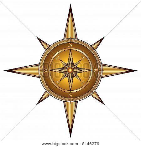Brújula de oro
