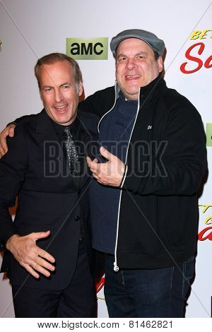 LOS ANGELES - JAN 29:  Bob Odenkirk, Jeff Garlin at the