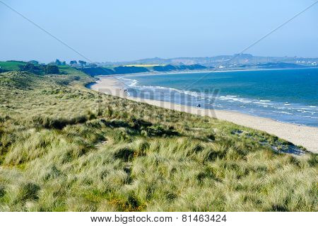 Beautiful Sand Beach In Co. Wexford,