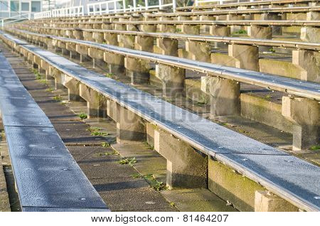 Benches, Bleachers, Stadium
