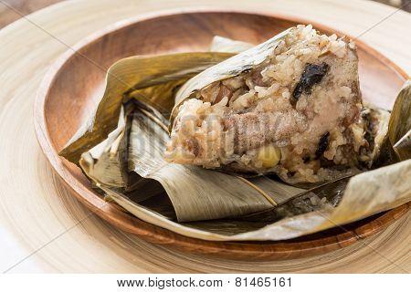 Zongzi Or Sticky Rice Dumpling