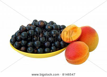 Black Currant And Apricots