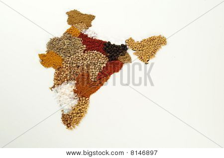 India Spice Map