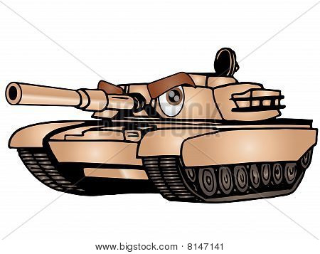Cartoon Tank