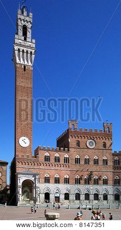 Old Town Hall in Siena