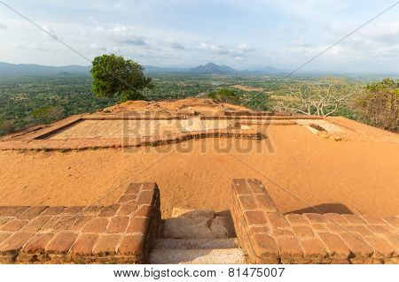 Ruins Of The Past In Sigiriya, Sri Lanka