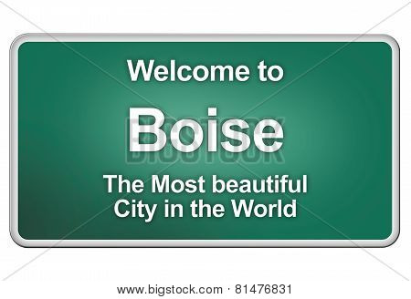 Welcome home to Boise