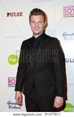 LOS ANGELES - JAN 29:  Nick Carter at the