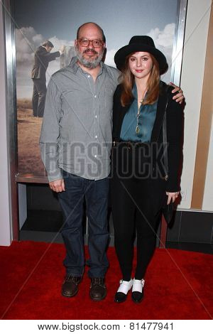 LOS ANGELES - JAN 29:  David Cross, Amber Tamblyn at the