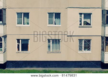 Vintage House With Windows