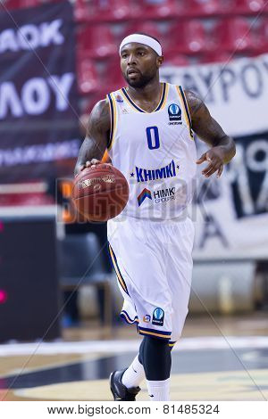 Paok Thessaloniki Vs Khimki Eurocup Game