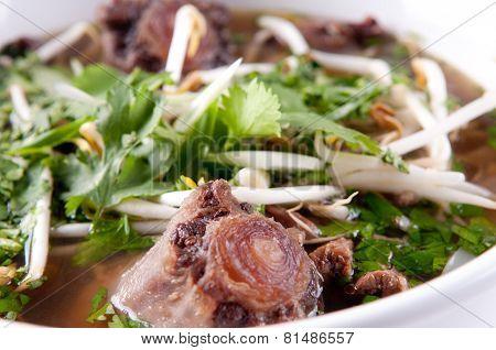 Oxtail Pho Soup