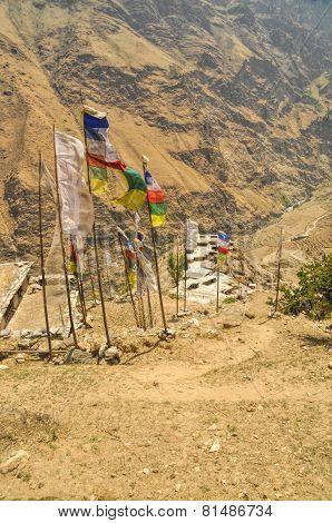 Nepalese Prayer Flags
