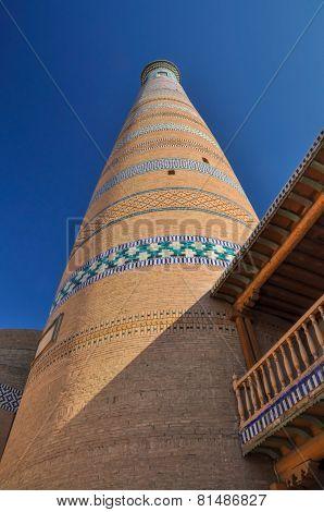 Minaret In Khiva