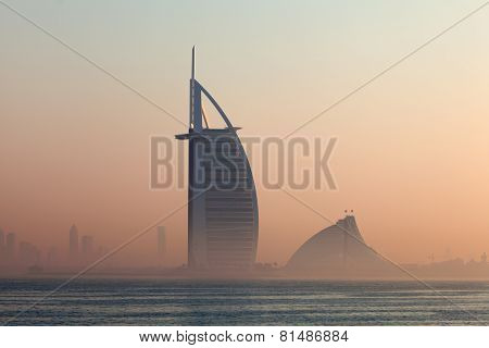 Luxury Hotel Burj Al Arab In Dubai