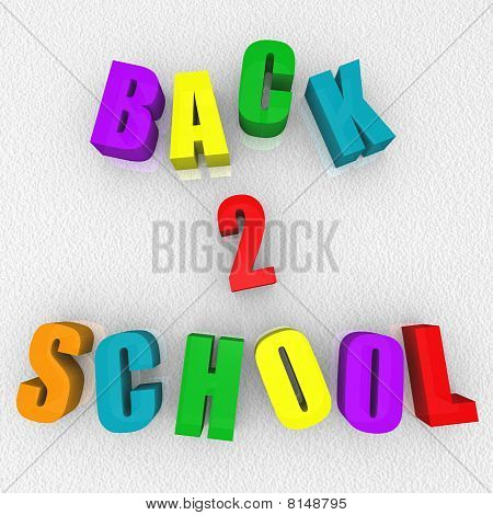 Back 2 School - Refrigerator Magnets