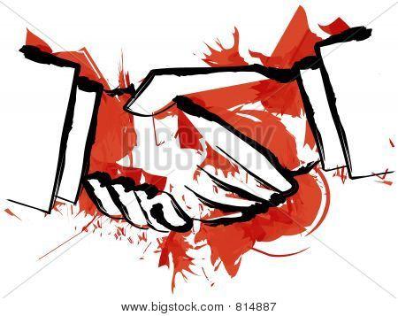 Blood Handshake