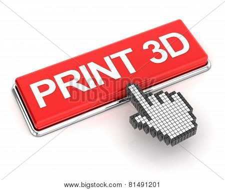 Clicking a 3d printing button