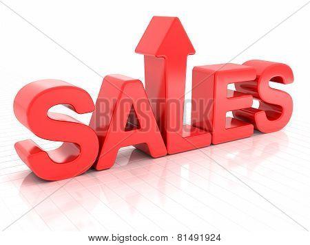 Sales increase