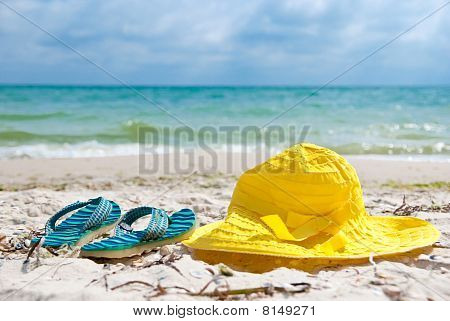 Hat And Flip-flop
