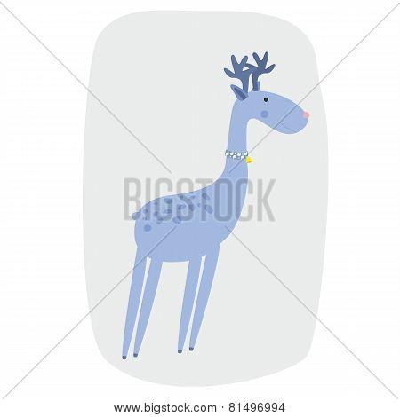 Deer vector illustration cartoon