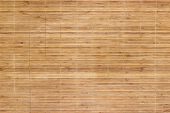 image of bamboo  - Background of bamboo mat texture  - JPG