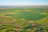 pic of farm land  - Ballooning over Israel  - JPG