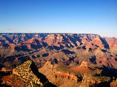 image of breathtaking  - The Grand Canyon is a very deep canyon carved by the Colorado River in the state of Arizona in the United States - JPG