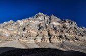 stock photo of karakoram  - Scenic peaks in Pamir mountains in Tajikistan  - JPG