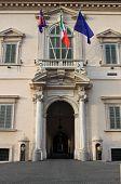 Quirinale Palace entrance