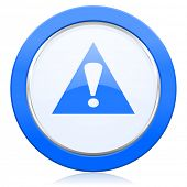 stock photo of warning-signs  - exclamation sign icon warning sign alert symbol  - JPG