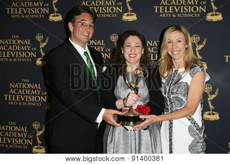 LOS ANGELES - APR 24: Animated Casting at The 42nd Daytime Creative Arts Emmy Awards Gala at the Universal Hilton Hotel on April 24, 2015 in Los Angeles, California