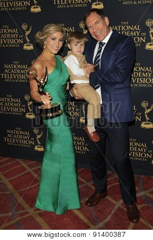 LOS ANGELES - APR 24: Elizabeth Ashley, Matthew Gerrard at The 42nd Daytime Creative Arts Emmy Awards Gala at the Universal Hilton Hotel on April 24, 2015 in Los Angeles, California