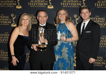 LOS ANGELES - APR 24: The Price is Right, Sound Mixing at The 42nd Daytime Creative Arts Emmy Awards Gala at the Universal Hilton Hotel on April 24, 2015 in Los Angeles, California