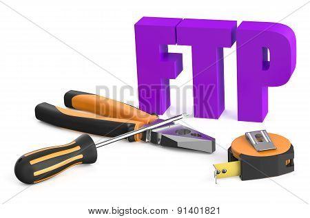 Ftp Service Concept
