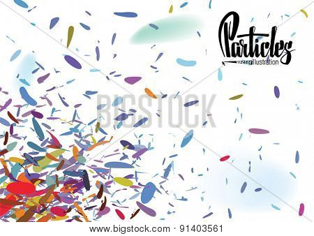 Vector background for a invitation to the party