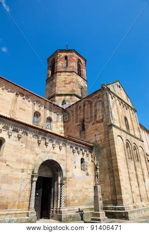Saints-pierre-et-paul Church In Rosheim, Alsace, France