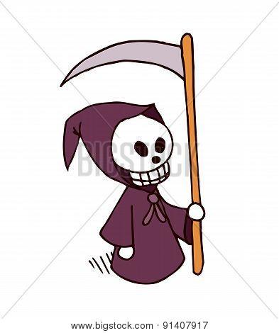 Death Cartoon Character